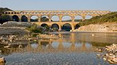 River Reflection of Pont du Gard