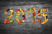 Happy Fruits Year, Natural Fresh Fruit, Ecology