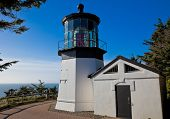 image of mear  - Cape Meares Lighthouse - JPG