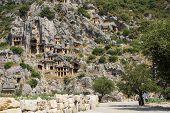 Lycian Rock Cut Tombs