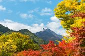 stock photo of seoraksan  - Seorak fall view in the morning light - JPG