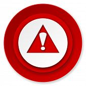 exclamation sign icon, warning sign, alert symbol