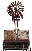 An Old Rusty Windmill