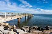 picture of jetties  - The jetty in Sassnitz  - JPG