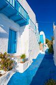 image of greek-architecture  - Typical Cycladic Architecture Plaka village Milos island Cyclades Greece - JPG