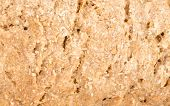 picture of crust  - Full frame take of the crust of a wholemeal bread - JPG