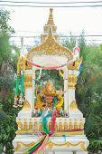 picture of hindu  - Hindu god the ganesh statue in Thailand - JPG