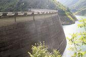 stock photo of dam  - Dam of Valvestino  - JPG