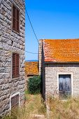 pic of stone house  - Figari South Corsica - JPG