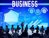 stock photo of enterprise  - Business Company Corporate Enterprise Organisation Concept - JPG