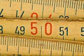 Close-up van hout meter tool
