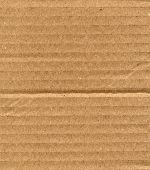 fine image of brown corrugate cardboard background