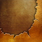 gold crack metal background(You can find more templates and textures in my portfolio)