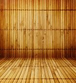 antigua sala de madera