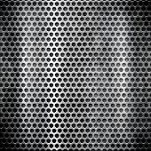 stock photo of metal grate  - metal grid - JPG