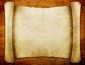 manuscrito de papel antigo textura de madeira marrom com padrões naturais