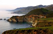 picture of bixby  - View of Bixby Bridge From Highway One Looking To The North - JPG