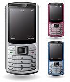 Moderno teléfono celular / PDA