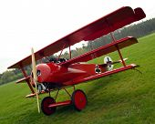 Historic triplane Fokker Dr.1