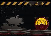 Electrical Grunge Background