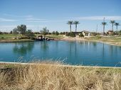 Golf Course Water Feature