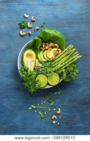 Avocado Asparagus Micro Greens Lime