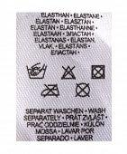 maintenance instruction for elastin dress