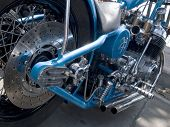 Detail Of Motorcycle