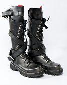 Goth Punk Knee-high Fashion Boots