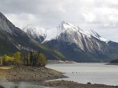 Medicine Lake, South Side  Jasper National Park, Alberta, Canada