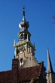 picture of veer  - Historical buiding in the little town called Veere  - JPG