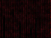 Binary Matrix Red Background2