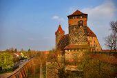 Eine Stadtmauer Burg - Nürnberg, Deutschland