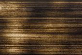 Grunge Background From Sheet Metal Of Brass. Textured Brass Background poster