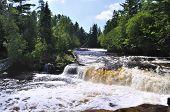 Lower Tahquamenon Falls in  Michigan