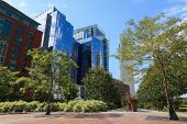 picture of prudential center  - The financial district of Boston Massachusetts  - JPG