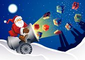 Santa Gift Launcher