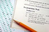 Responder a uma pergunta de matemática complicada em um exame ou teste
