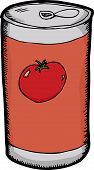 Can Of Tomato Juice