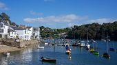 Fowey, Cornwall, Uk