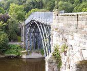 The Iron Bridge crossing the River Severn
