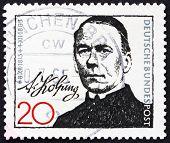 Postage stamp Germany 1965 Adolph Kolping