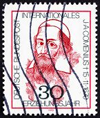 Postage stamp Germany 1970 John Amos Comenius