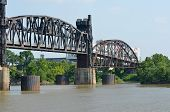 Old Rock Island railroad bridge