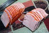 preparation bacon