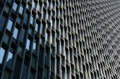 stock photo of prudential center  - The exterior of an industrial office tower - JPG