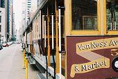 San Francisco Trolly Cable Car