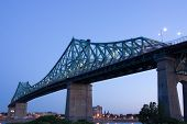 Jacques-Cartier Bridge Of Montreal