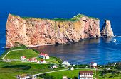 pic of supernatural  - HDR Image of Perce Rock in Gaspe Quebec - JPG