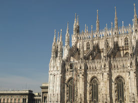 stock photo of domme  - Milan Cathedral (Duomo di Milano), in Italy